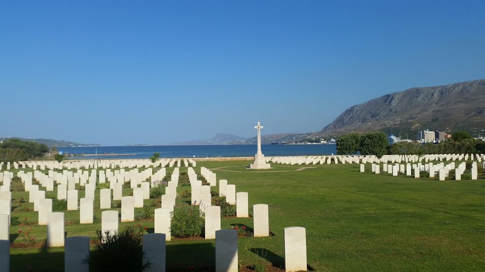 Allies War Cemetery Suda Bay Crete